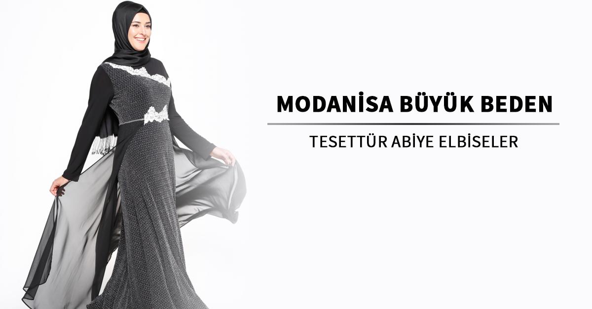 c427f06943bd5 Modanisa Büyük Beden Abiye Elbise Modelleri | Ehl-i Tesettür
