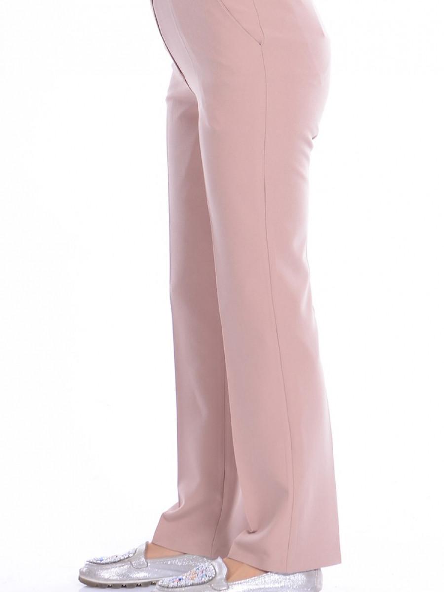 Sefamerve Düz Paça Koyu Krem Pantolon