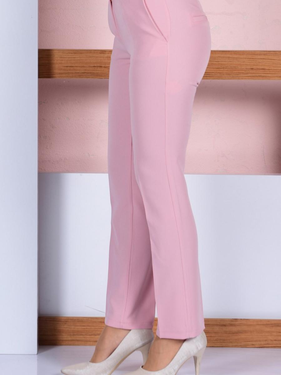Sefamerve Düz Paça Pudra Pantolon