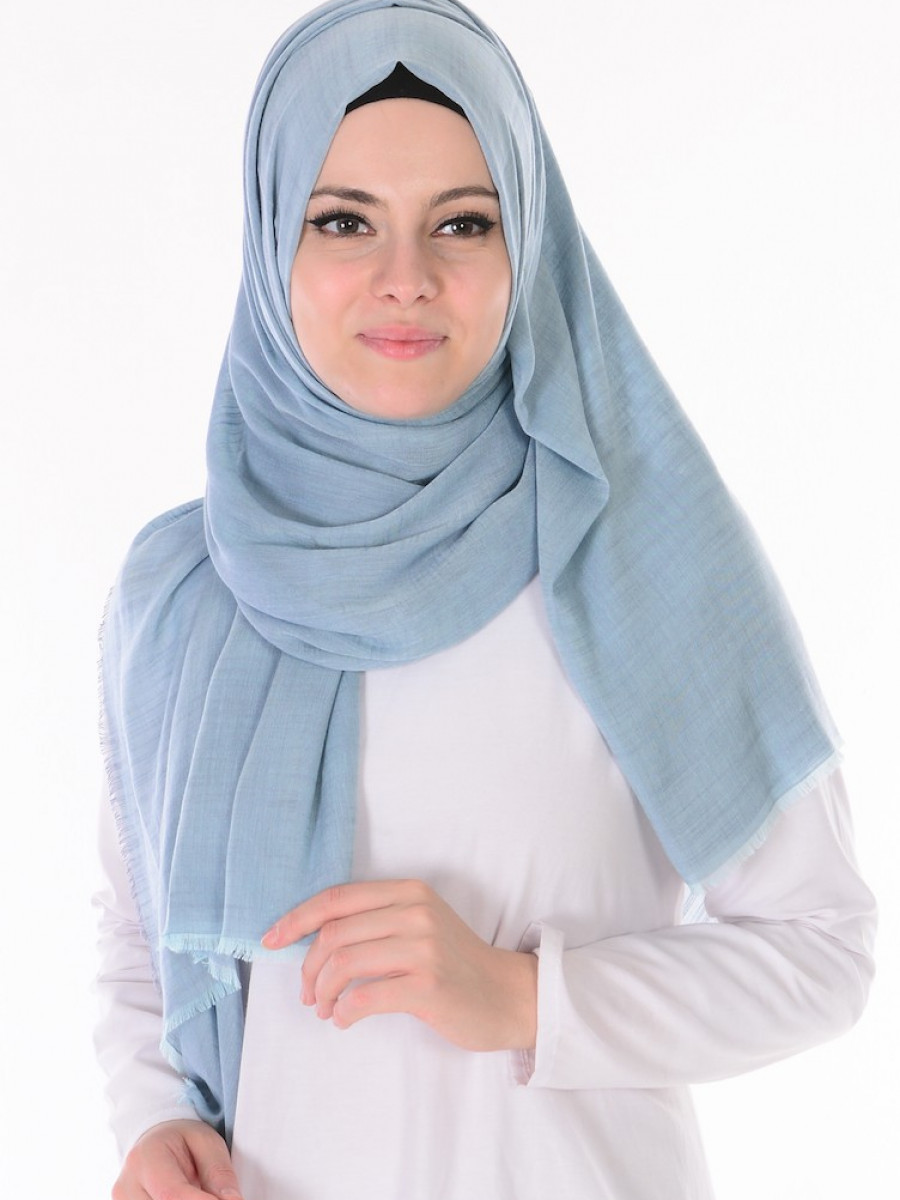 Mavi şal modeli