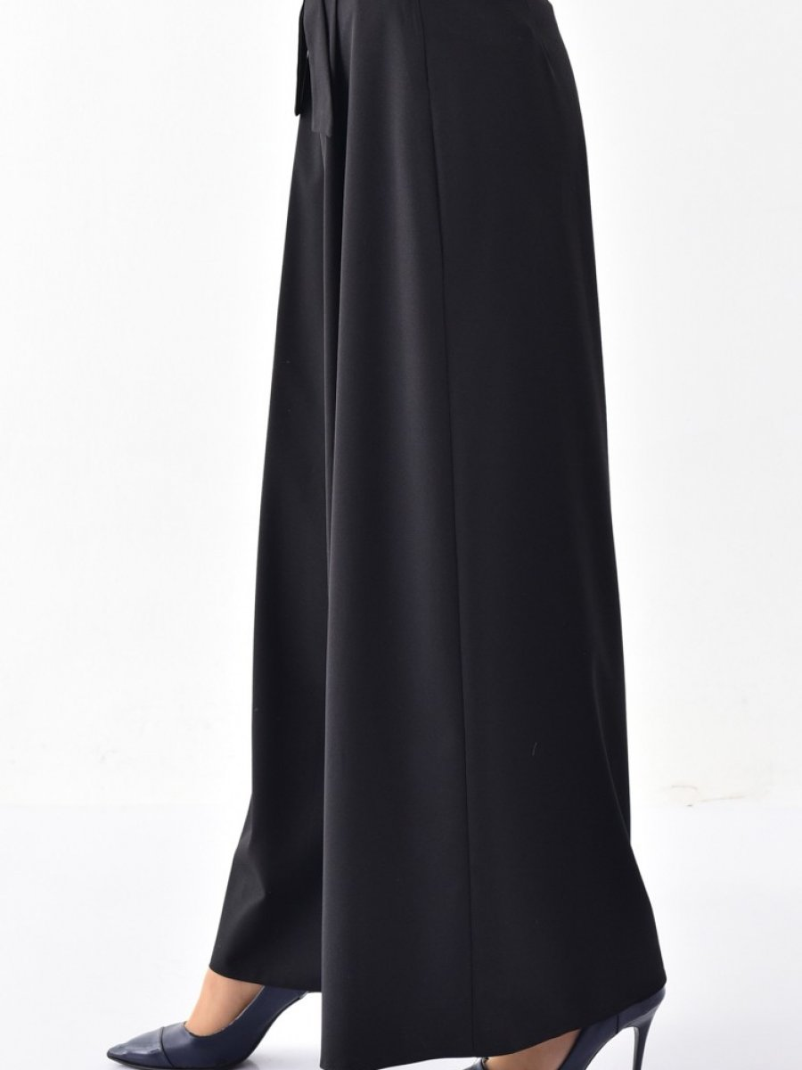 Sefamerve Siyah Pantolon Etek