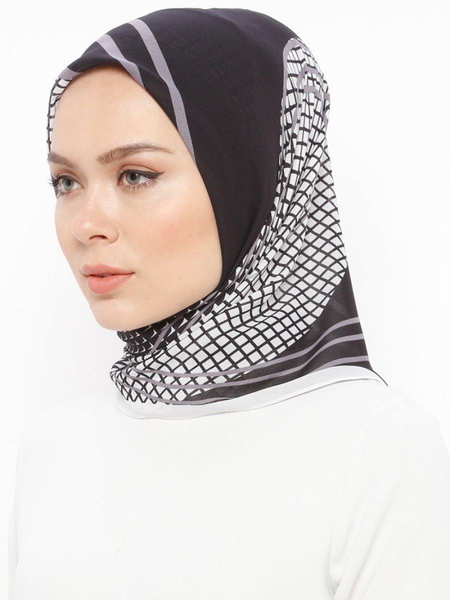 Mısırlı Mor Alize Krep Eşarp