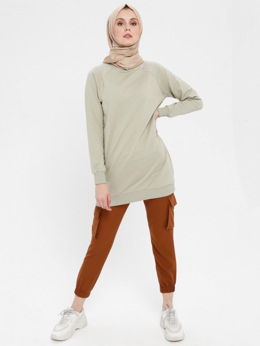 Loreen By Puane Kargo Taba Pantolon