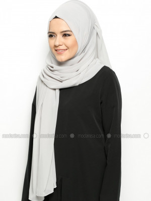 Alya Gri Şal