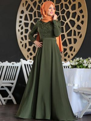 Mahperi İncili Haki Elbise
