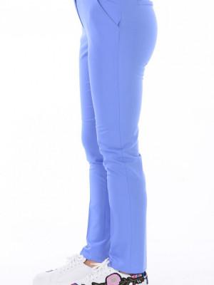 Düz Paça Mavi Pantolon